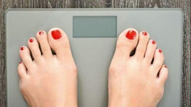 40キロになった体重